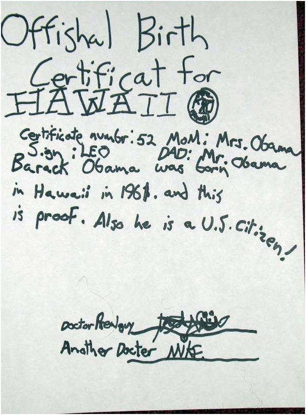 Birther Debate Rages on Over Obama Birth Certificate in Hawaii