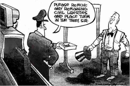 oppressive police
