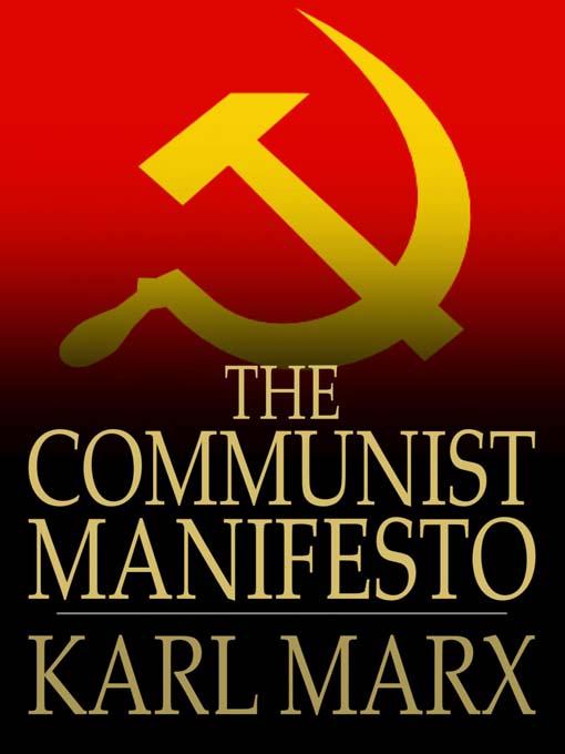 Communist Manifesto - Karl Marx, Friedrich Engels