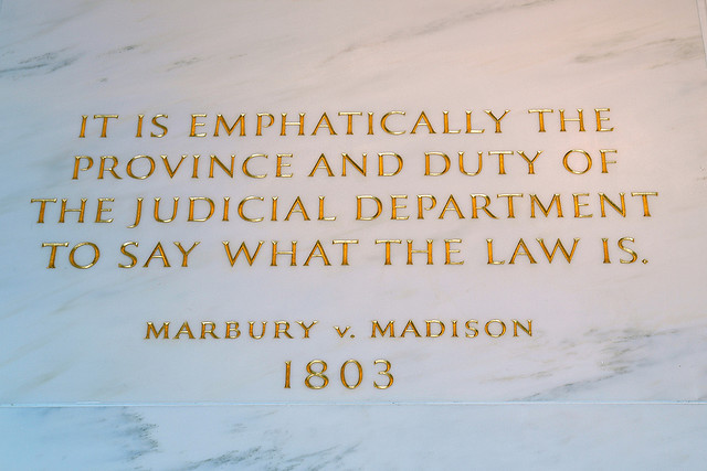 the power of judicial review of the supreme court in the united states Does the supreme court abuse its power  alexander hamilton's definiton of the supreme court's power of judicial review  it was a united states supreme court.