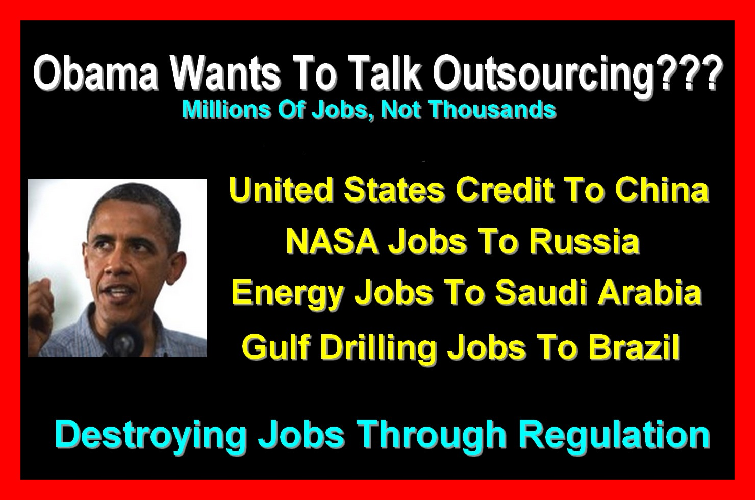 obama outsourced jobs