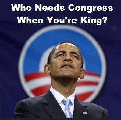 Obama as King
