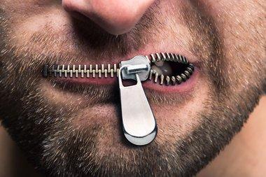 zipper-mouth