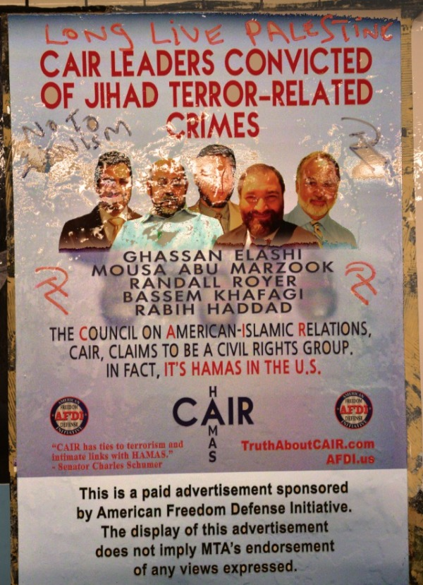 cair-poster-vandalized