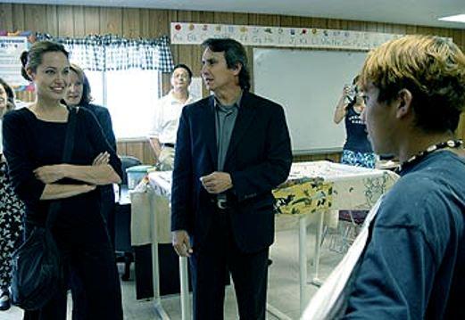 "Angelina Jolie ""Monitoring"" Arizona ICE Detention Center on Behalf of Anti-US United Nations in 2004"