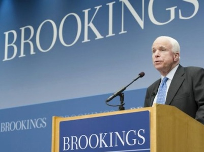McCain-Brookings-Institution