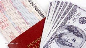 Airline-Passport-Cash-Bills