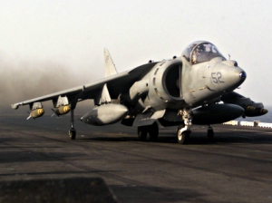 navy-harrier-taking-off