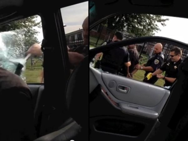 police excessive force traffic stop