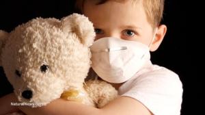 Sick-Child-Flu-Face-Mask-Teddy-Bear