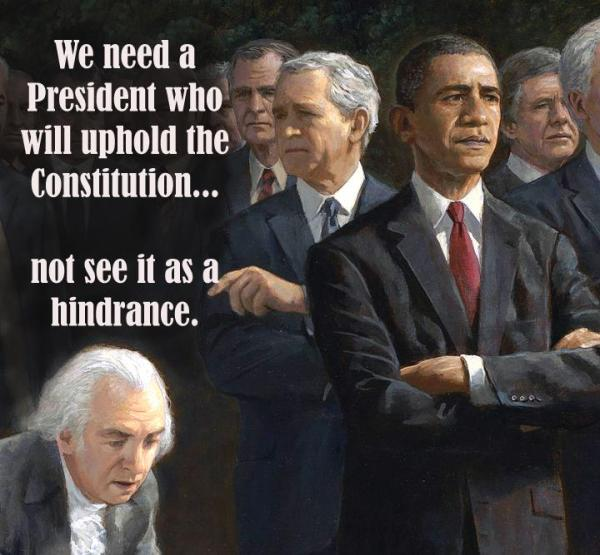 Constitution Hindrance