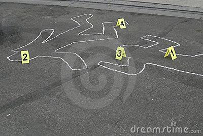 body-chalk-outline