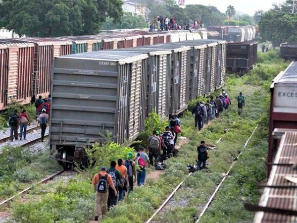 Gangs have shifted away from using freight trains to smuggle children to the U.S.-Mexico border. AP Photo