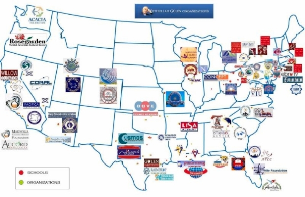 map-of-gulen-organizations-in-US