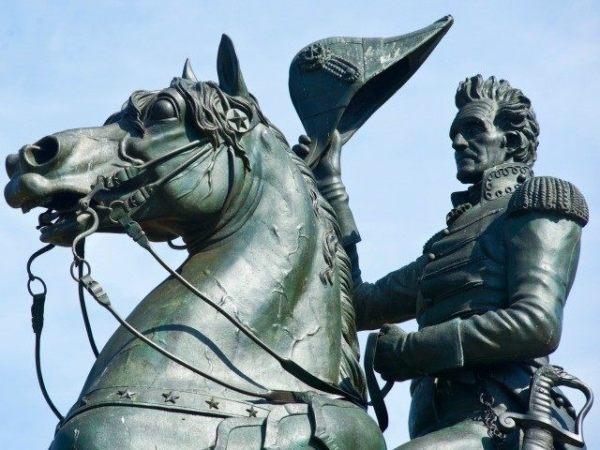 Andrew-Jackson-statue
