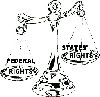 states-rights-and-federal-rightrs-scales
