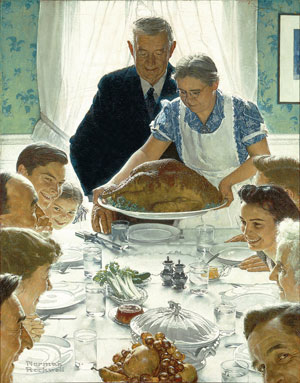 rockwell-thanksgiving